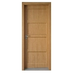 Porte bois interieure contemporaine design