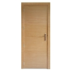Porte contemporaine design rainures
